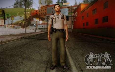 Alex Shepherd From Silent Hill Police für GTA San Andreas