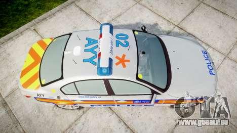 BMW 525d E60 2009 Police [ELS] für GTA 4 rechte Ansicht