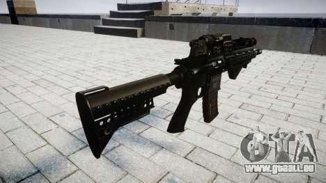 Gewehr HK416 CQB für GTA 4 Sekunden Bildschirm