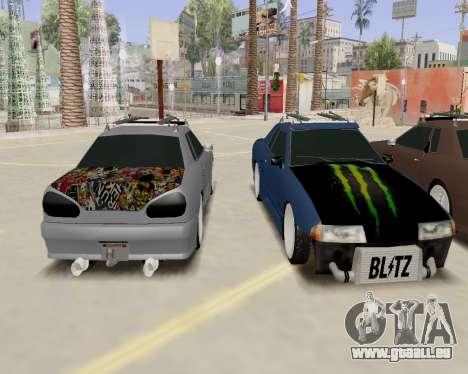 Elegy v2.0 für GTA San Andreas rechten Ansicht