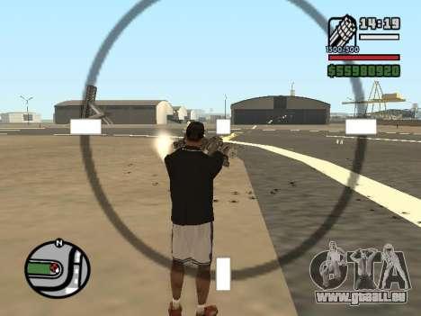 La double propriété de toutes les armes pour GTA San Andreas septième écran