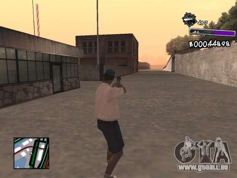 C-HUD Minimal pour GTA San Andreas troisième écran
