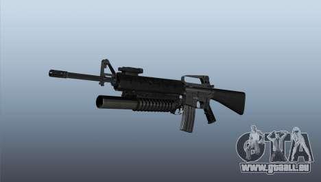 Gewehr M16A2 M203 sight1 für GTA 4
