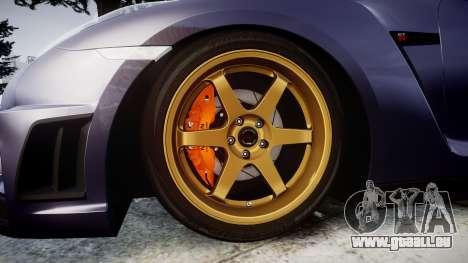 Nissan GT-R R35 2012 pour GTA 4 Vue arrière
