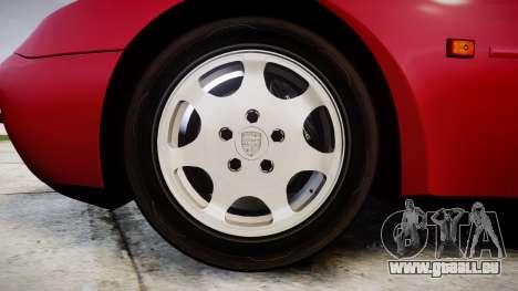Porsche 944 Turbo 1989 für GTA 4 Rückansicht