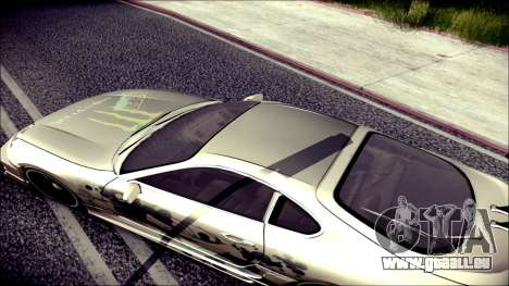 Toyota Supra Street Edition für GTA San Andreas Innenansicht