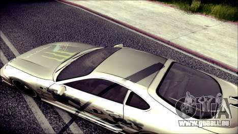 Toyota Supra Street Edition pour GTA San Andreas vue intérieure