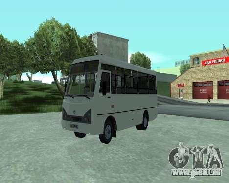 I-Van A07A pour GTA San Andreas vue de droite