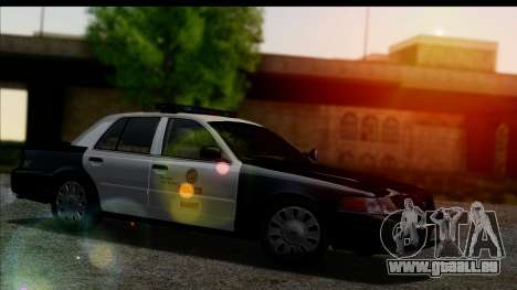 LAPD Ford Crown Victoria Whelen Lightbar pour GTA San Andreas