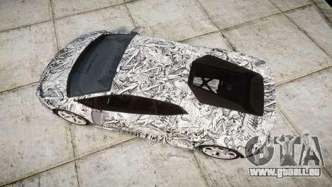 Lamborghini Huracan LP610-4 2015 Sharpie für GTA 4 rechte Ansicht