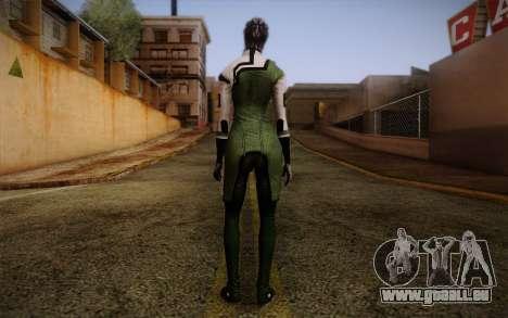 Liara T Soni Scientist Suit from Mass Effect pour GTA San Andreas deuxième écran
