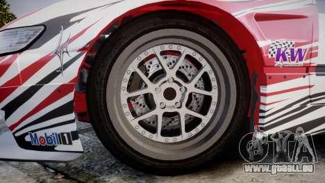 Nissan 240SX S13 D. Yoshihara HD für GTA 4 Rückansicht
