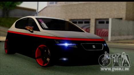 Seat Leon Hellandreas 2013 für GTA San Andreas