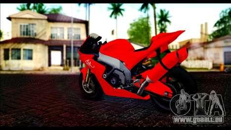 Shitzu Hackuchou from GTA 5 pour GTA San Andreas laissé vue