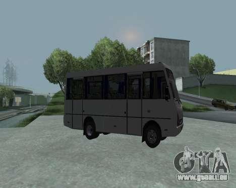 I-Van A07A pour GTA San Andreas laissé vue