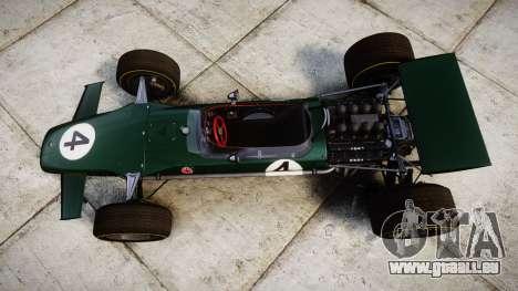 Lotus Type 49 1967 [RIV] PJ3-4 für GTA 4 rechte Ansicht