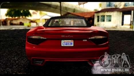 GTA 5 Hijak Khamelion IVF pour GTA San Andreas vue de droite