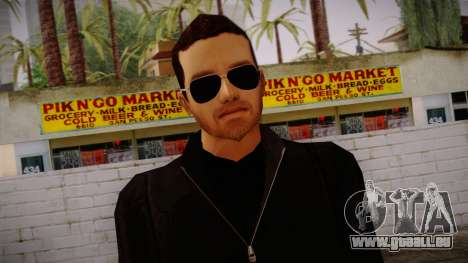 Gedimas Jeffm Skin HD pour GTA San Andreas troisième écran