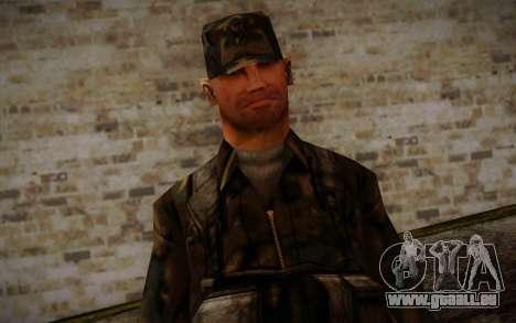 Soldier Skin 4 pour GTA San Andreas troisième écran