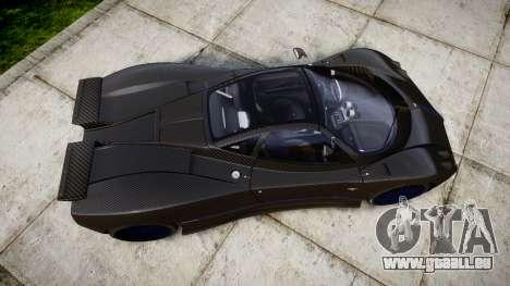 Pagani Zonda C12 S 7.3 2002 PJ4 pour GTA 4 est un droit