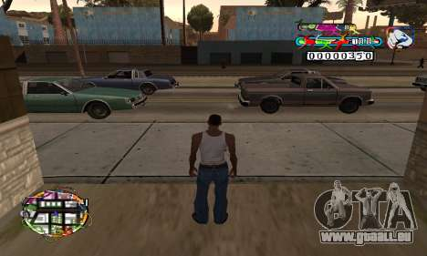 C-HUD Color für GTA San Andreas