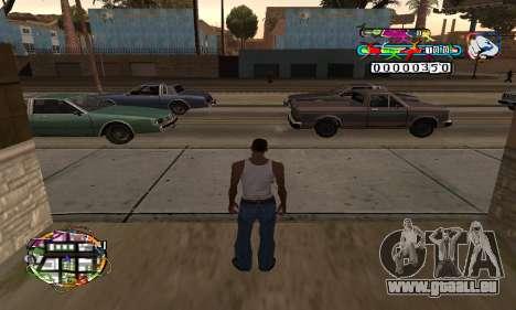 C-HUD Color pour GTA San Andreas