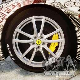 Ferrari F430 Scuderia 2007 Sharpie pour GTA 4 Vue arrière