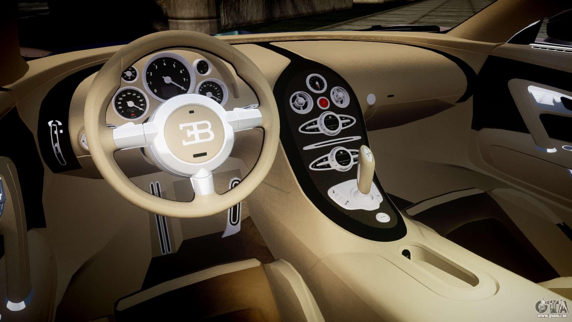bugatti veyron 16 4 v2 0 pour gta 4. Black Bedroom Furniture Sets. Home Design Ideas