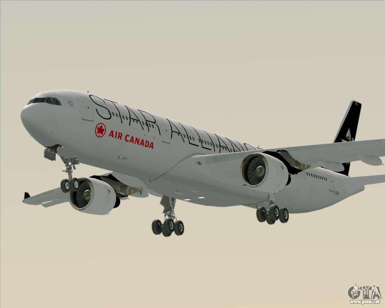 Air Canada Star Alliance 31