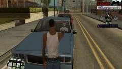 C-HUD Cesar Weezy pour GTA San Andreas