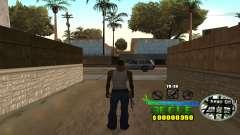C-HUD Groove Street pour GTA San Andreas