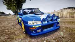 Subaru Impreza WRC 1998 v4.0 World Rally für GTA 4
