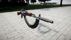 Die AK-47-Kollimator. Die Schnauze und die HICAP