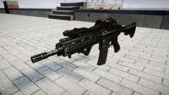 Fusil HK416 CQB cible