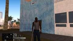 C-HUD Silver für GTA San Andreas