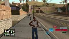 C-HUD by SampHack v.19 für GTA San Andreas