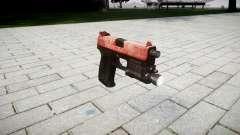 Pistolet HK USP 45 rouge