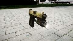 Pistolet HK USP 45 flore