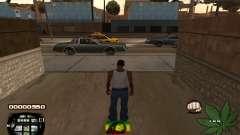C-HUD Rasta pour GTA San Andreas