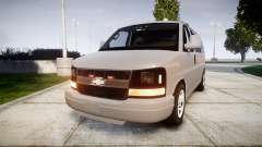 Chevrolet Express 2013 NYPD [ELS] unmarked pour GTA 4