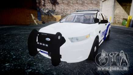 Ford Taurus 2014 Liberty City Police [ELS] pour GTA 4