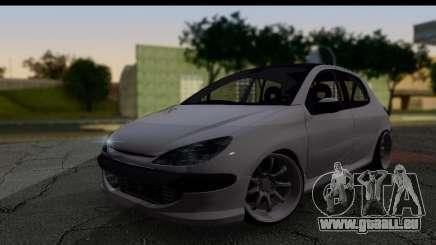 Peugeot 206 Drift JDM Style für GTA San Andreas