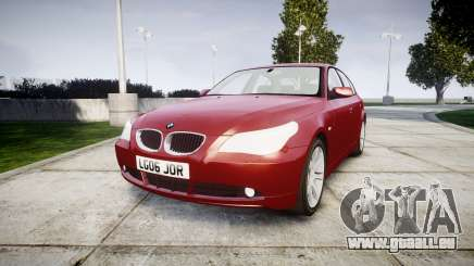 BMW 525d E60 2006 pour GTA 4