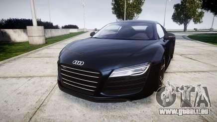 Audi R8 plus 2013 HRE rims pour GTA 4