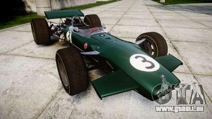 Lotus Type 49 1967 [RIV] PJ3-4 pour GTA 4