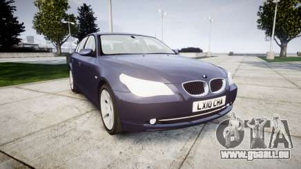 BMW 525d E60 2009 für GTA 4