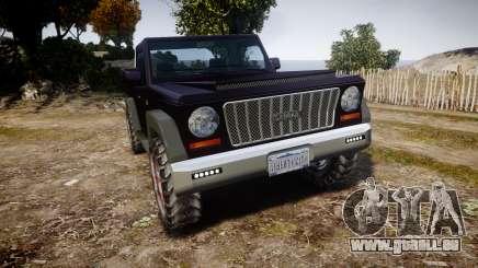 Senran Pioneer Pickup pour GTA 4