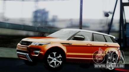 Range Rover Evoque 2014 pour GTA San Andreas