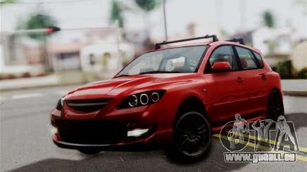 Mazda 3 MPS für GTA San Andreas