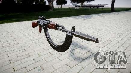 L'AK-47 Collimateur. Le museau et les HICAP pour GTA 4